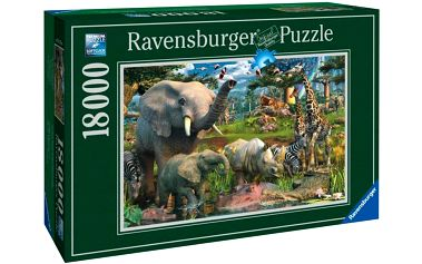 Ravensburger Divočina 18000 dílků