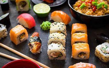 Running Sushi - All You Can Eat včetně grilování v OC Park Hostivař