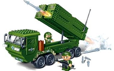 BanBao Stavebnice Defence Force raketomet