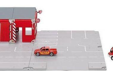 SIKU World - Set požární stanice 16 dílů + dárek