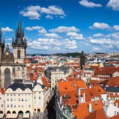 Okouzlující pobyt v luxusním 4 * hotelu v Praze s výbornou polohou u centra