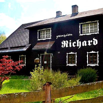 3 až 6denní pobyt se snídaněmi a saunou pro 2 v penzionu Richard v Jeseníkách