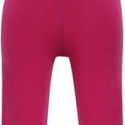 ALPINE PRO Dívčí 3/4 kalhoty AKUO- růžové
