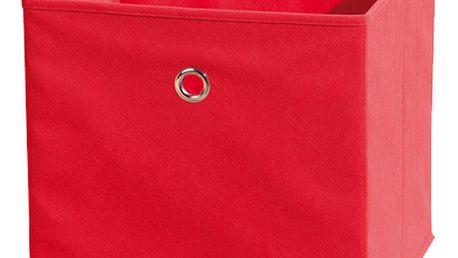Textilní box Winny, červený