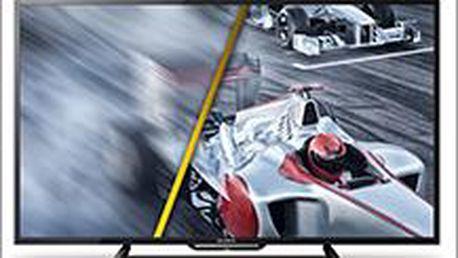 Ultra tenká televize SONY s úhlopříčkou 102 cm a moderním vzhledem. Požitek s filmů teď může být dokonalý!