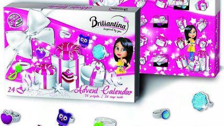 Bonaparte Adventní kalendář Briliantina 2014 prstýnky