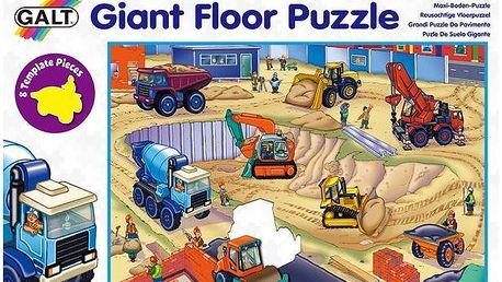 Galt Velké podlahové puzzle - na staveništi