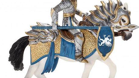 Schleich Rytíř na koni s kopím 70109