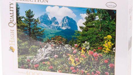 Clementoni 4000 dílků - Sassolungo - Langkofel, Dolomity