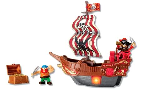 HMStudio Sada piráti krabice střední
