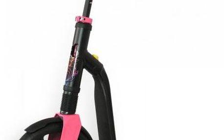 Scoot & Ride Koloběžka Highwaygangster černá/růžová