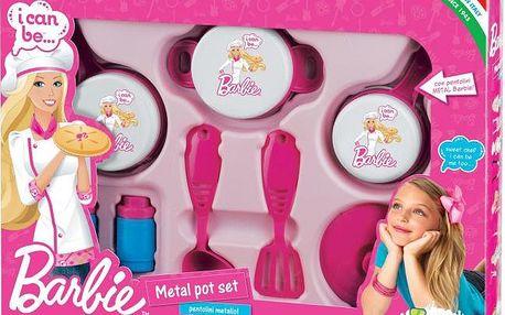 Faro Pánvičkový set kovový Barbie