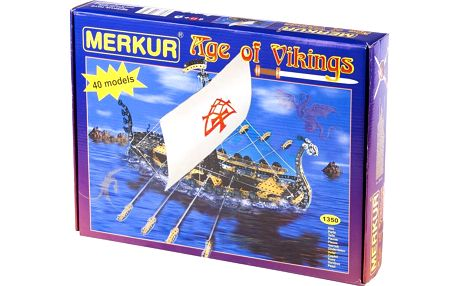 Merkur Age of Vikings 40 modelů 1350ks