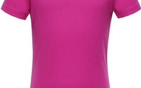 ALPINE PRO Dívčí funkční tričko HOTO- růžové