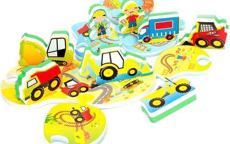 Meadow Kids Puzzle do vany Stavba