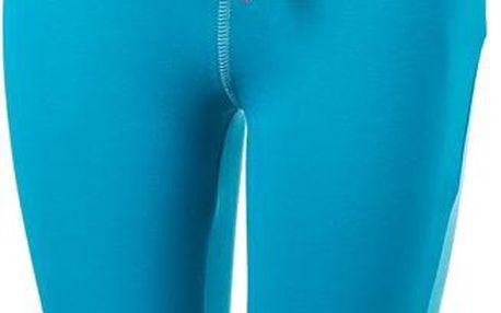 ALPINE PRO Dětské 3/4 kalhoty AKUO- modré