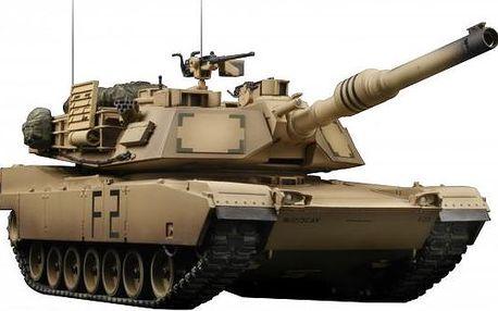 Vstank PRO ZERO IR US M1A2 Abrams Desert