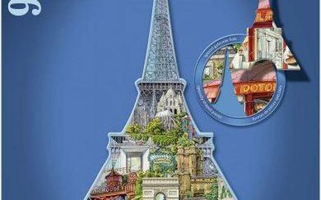 Ravensburger Eiffelova věž, Paříž - tvarové