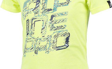 ALPINE PRO Dívčí funkční tričko STYGO 2- žluté