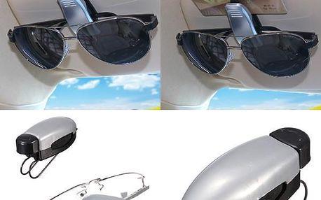 Plastový držák slunečních brýlí - dodání do 2 dnů