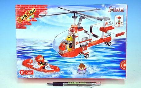 BanBao Vrtulník Hasiči 150ks
