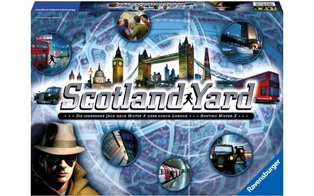Ravensburger Scotland Yard hra