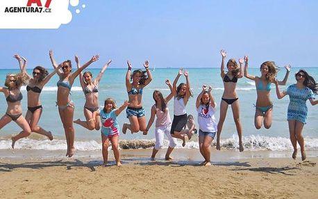 Tábor v Itálii: 7 dní plných koupání a návštěvy Říma za last minute cenu 6850 Kč