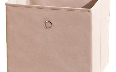 Textilní box Winny, béžový