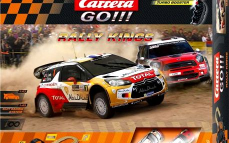 Carrera Autodráha GO Rally Kings