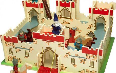 Bigjigs Toys Dřevěný hrad krále Artuše