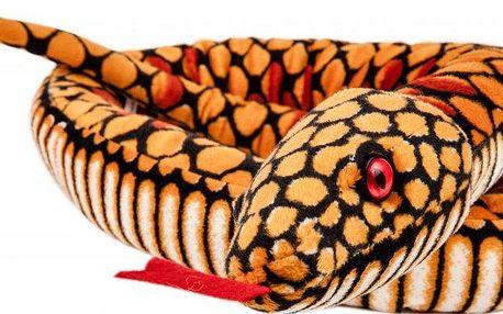 Lamps Had žlutý velký plyš