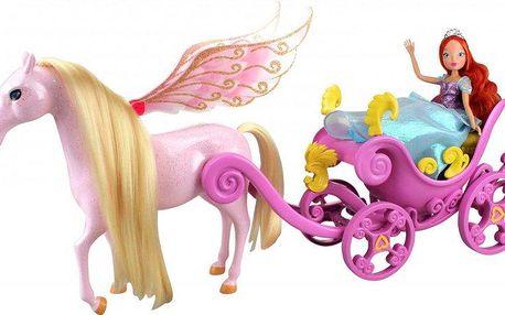 Winx Kočár s koněm a princezna Bloom