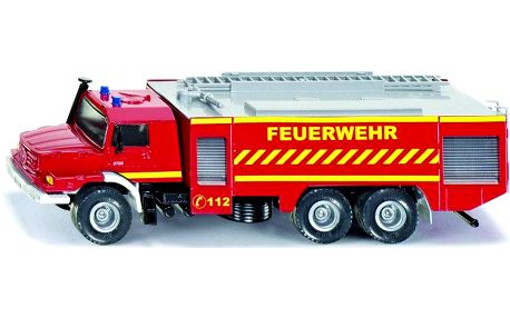 SIKU Super - Mercedes Zetros Fire Engine, 1:50