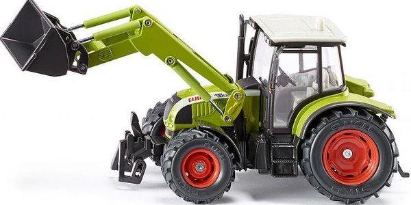 SIKU Farmer - Traktor Claas s čelním nakladačem, 1:32