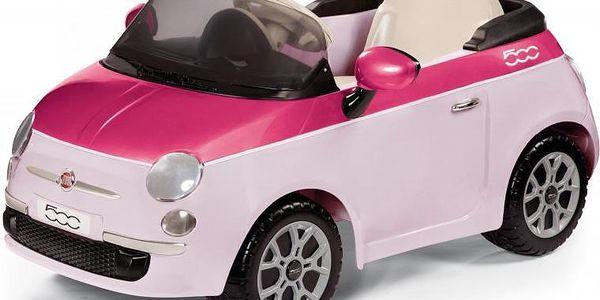 Peg Perego Fiat 500 Pink