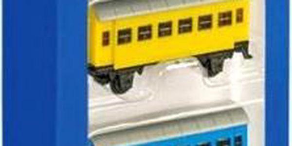 SIKU Železniční sada, lokomotiva + 3 vagonky