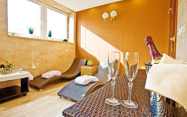 3–6denní wellness pobyt pro 2 s polopenzí v Grand hotelu Sergijo**** v Piešťanech