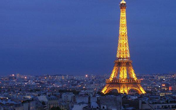 2199 Kč za zájezd do letní Paříže 4. - 7.7.2016. Cena včetně dopravy a noclehu