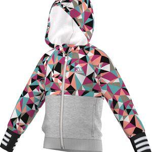 Adidas Dívčí mikina LG RI FZ HOODIE AJ6223