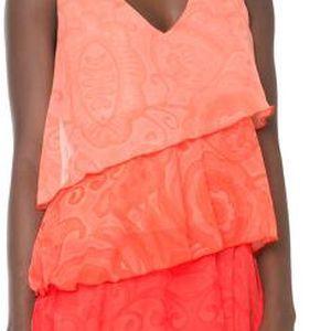 Desigual Dámské šaty Nerea Potent Purple 61V28Q5 3152 38