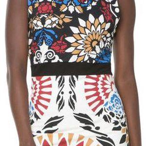 Desigual Dámské šaty Bianca Negro 61V20M8 2000 L