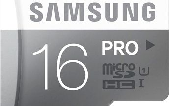 Samsung Micro SDHC Pro 16GB UHS-I - MB-MG16E/EU