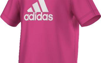 Adidas Dívčí tričko LK ESS LOGO TEE AK2768