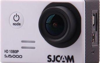 SJCAM SJ5000 sportovní kamera - stříbrná