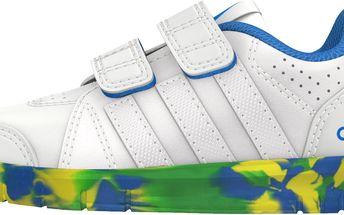 Adidas Dětské tenisky LK Trainer - bílé