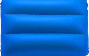 Nafukovací polštářek v modré barvě - skladovka - poštovné zdarma