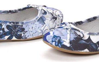 s.Oliver dámské baleríny 39 modrá