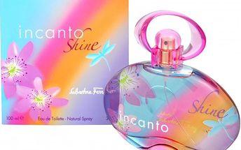Salvatore Ferragamo Incanto Shine - toaletní voda s rozprašovačem 100 ml