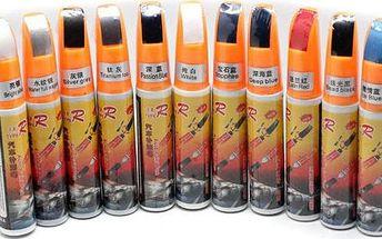 Barevný fix na opravu škrábanců na karoserii - v 8 barvách - poštovné zdarma