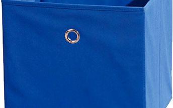 Textilní box Winny, modrý
